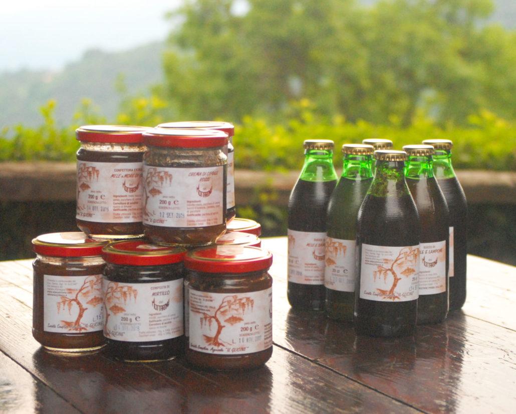 Marmellate e succhi Il Glicine Alpe Selviana